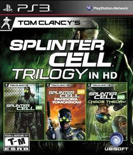Tom Clancys Splinter Cell Classic Trilogy HD Sony Playstation 3, 2011
