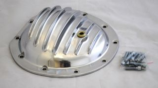 /CHEVY TRUCK 10 BOLT Polished Aluminum Rear End/Differential Cover