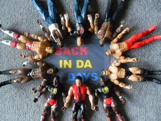 WWF WCW WWE WReSTLiNG Figures GoLDBeRG RaNDY oRToN CRYMe TYMe SHeLTon