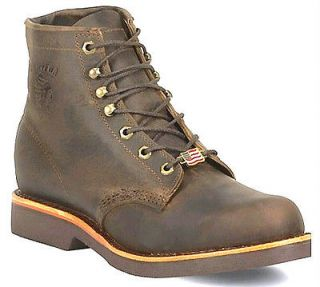CHIPPEWA MEN SIZE 12 D MADE IN USA VINTAGE LOOK NEW BOOTS 20065