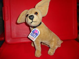 TACO Bell Authentic 11 Chihuahua Dog 1998 Plush Stuffed Animal