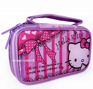 Kitty New Pouch Case Bag For Nintendo NDS Lite Ds NDSi DSi 3DS Game