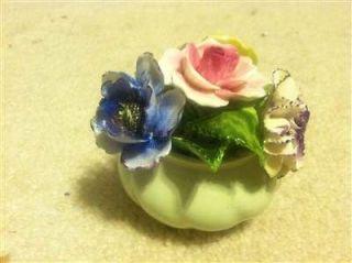Radnor Bone China Floral Flower Rose Figurine