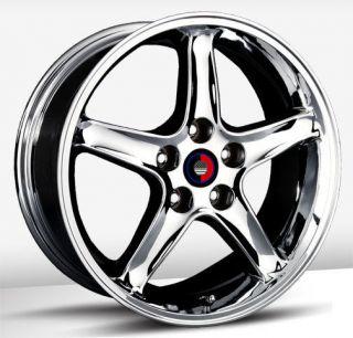 16x8 OE Concepts Cobra R Replica Chrome Wheel/Rim(s) 4x108 4 108 4x4