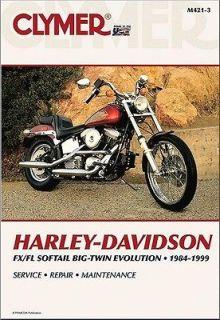 1984 1999 Harley Davidson FL FX Softail CLYMER MANUAL