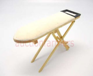 Dollhouse Miniature Wooden Ironing Board NEW Furniture Home