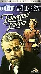 Tomorrow Is Forever VHS, 1992