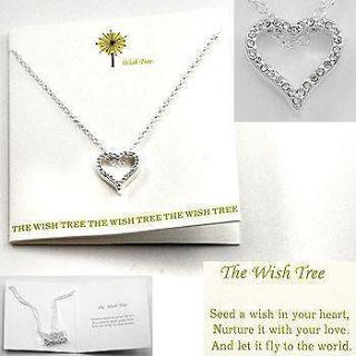 SMALL CRYSTAL HEART LOVE WEDDING PROM BRIDE FRIENDSHIP SILVERTONE