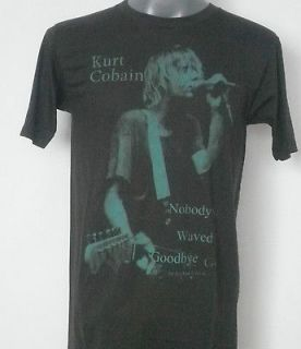 NIRVANA KURT COBAIN ROCK T  SHIRT WHITE SIZE Large