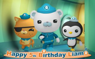 OCTONAUTS Edible Cake Image Topper