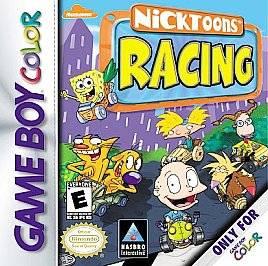 Nicktoons Racing (Nintendo Game Boy Col