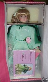 Paradise Galleries Irish Lass COLLEEN Porcelain Doll