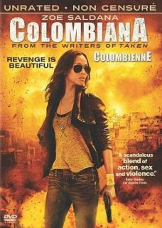 Colombiana DVD, 2011, Canadian French
