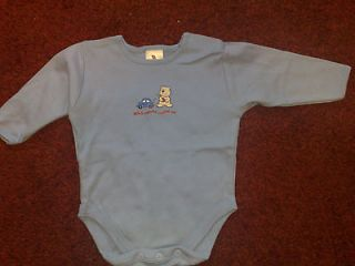 Ladybird Baby Boys Blue Mix Baby Grow One Piece Outfit for 3   6