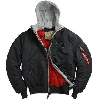 Alpha Industries MA 1 D Tec Flight Jacket   Black, New Silver, Sage
