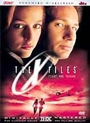 The X Files Fight the Future DVD, 2001, Sensormatic Anamorphic