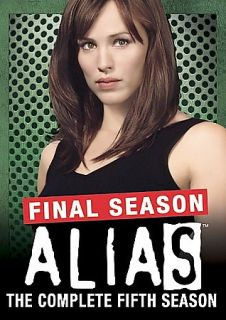 Alias   The Complete Fifth Season DVD, 2006, 4 Disc Set