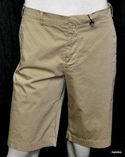 525 NWT Jil Sander Medium Beige Cotton & Spandex Walking Shorts 54/38