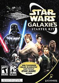 Star Wars Galaxies Starter Kit PC, 2005