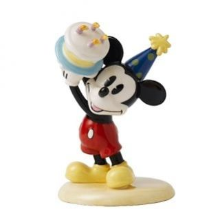 Royal Doulton Mickey Mouse Happy Birthday Figurine Brand New