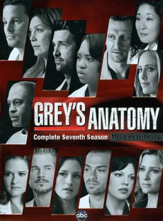 Greys Anatomy Complete Seventh Season DVD, 2011, 6 Disc Set
