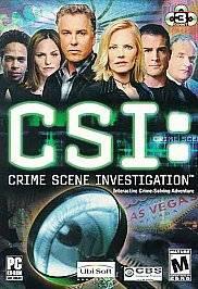 CSI Crime Scene Investigation PC, 2003