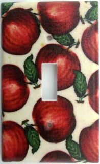 Kitchen Fruit Light Switch Outlet Plate Cover Wall Decor Apples