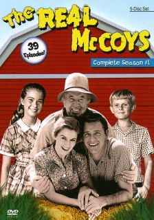 The Real McCoys   The Complete Season 1 DVD, 2012, 5 Disc Set