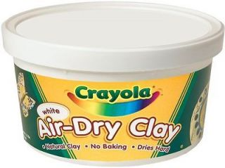 CRAYOLA Air Dry Clay   White   10 pounds