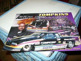 NHRA SAM TOMPKINS ADVANCE AUTO PARTS CHEVY PRO STOCK TRUCK DRAG RACING