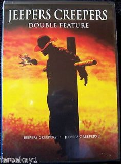 JEEPERS CREEPERS 1 & 2 DvD JUSTIN LONG Nicki Aycox GINA PHILIPS Victor