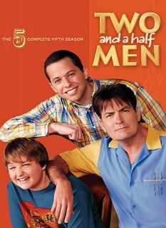 Two and A Half Men   The Complete Fifth Season DVD, 2009, 3 Disc Set