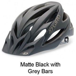 Giro Cycling Helmet Xar Matte Black Grey Bars Bike Mountain Dirt New