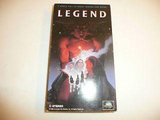 (VHS, 1991) with Tom Cruise, Mia Sara, Tim Curry   Fantasy Movie