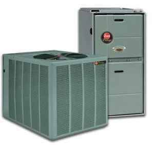 Rheem 2 1/2 ton 2.5 ton 13 seer Heat Pump Complete Split System FREE