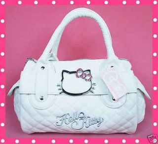 Hello Kitty Cute Shopping Tote Hand Shoulder Bag Handbag w/Long Strap