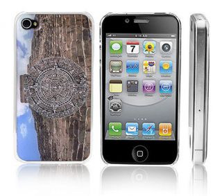 Transparent Snap On Clear iPhone Case for 4/4S iPhone Aztec Mayan