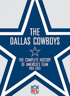 NFL Dallas Cowboys Team History DVD, 2003, 2 Disc Set