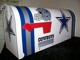 NFL DALLAS COWBOYS CUSTOM MAiLBOX jersey hats giants jets redskins