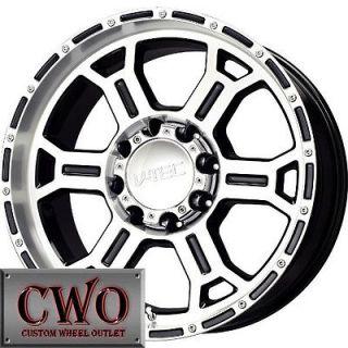 17 Black V Tec Raptor Wheels Rims 8x170 8 Lug Ford F250 F350 Super