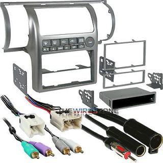 dash kit combo din ddin dash kit wire harness antenna adapter returns
