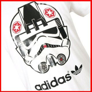 Adidas Originals Star Wars AT AT Pilot T  shirt   XL WHITE
