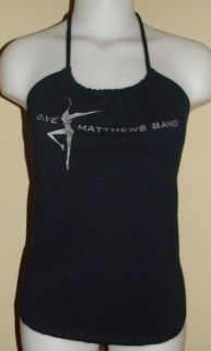 Dave Matthews Band Concert Tour Shirt Reconstructed Halter Top DiY