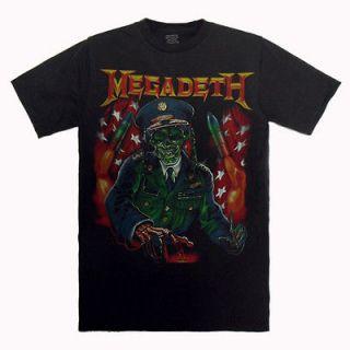Megadeth Captain Vic American heavy metal band Vintage T Shirt Size M