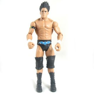 237 WWE Wrestling Mattel Basic Series 10 Darren Young Nexus Figure