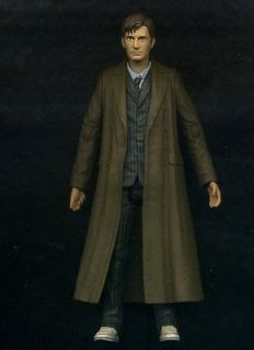 DOCTOR WHO The Tenth Doctor DAVID TENNANT 5in action figure Long Coat
