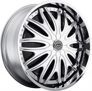 26 DAVIN REVOLVE SPINNERS Sexclusive WHEEL SET 26x10 RIMS 5   6 Lug