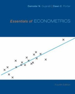 of Econometrics by Dawn Porter, Damodar Gujarati, Dawn C. Porter