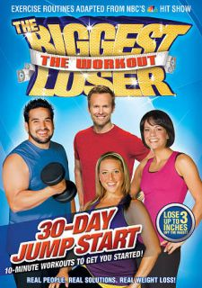 The Biggest Loser The Workout   30 Day Jump Start DVD, 2009
