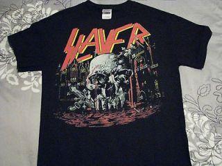 slayer t shirt death metal black speed thrash venom metallica megadeth